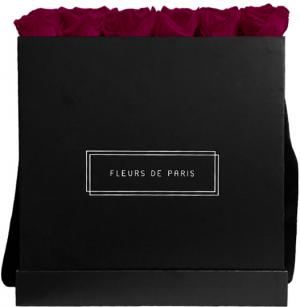 Infinity Collection Velvet Plum Luxe black - square