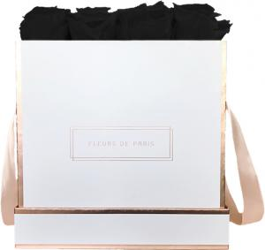 The Rosé Gold Collection Black Beauty Large white - square