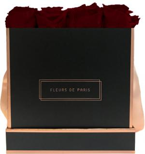 The Rosé Gold Collection Burgundy Large black - square