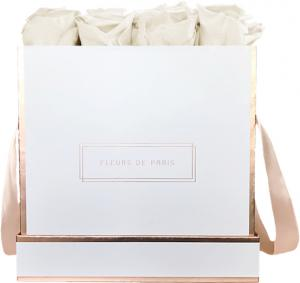 The Rosé Gold Collection Ivory Large white - square