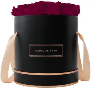 The Rosé Gold Collection Latin Cherry Large black - round