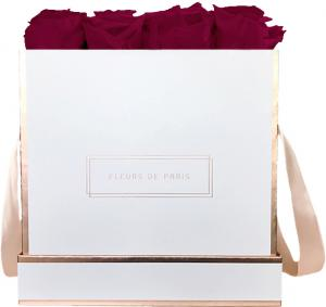 The Rosé Gold Collection Velvet Plum Large white - square