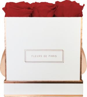 The Rosé Gold Collection Royal Red Medium white - square