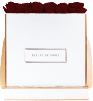The Rosé Gold Collection Burgundy Petit Luxe white - square