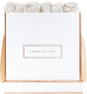 The Rosé Gold Collection Ivory Petit Luxe white - square