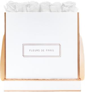The Rosé Gold Collection Pure White Petit Luxe white - square