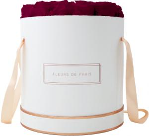 The Rosé Gold Collection Velvet Plum Petit Luxe white - round
