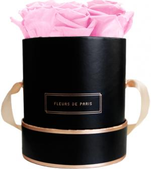The Rosé Gold Collection Bridal Pink Small black - round