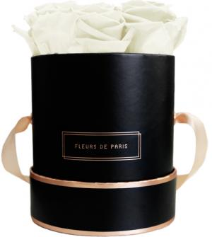 The Rosé Gold Collection Ivory Small black - round