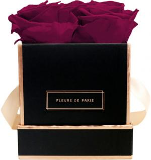 The Rosé Gold Collection Latin Cherry Small black - square