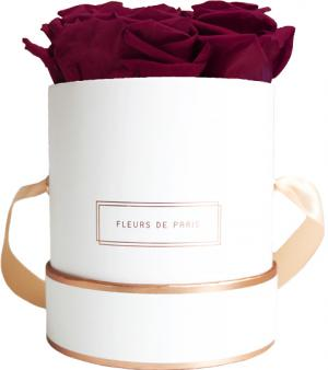 The Rosé Gold Collection Latin Cherry Small white - round