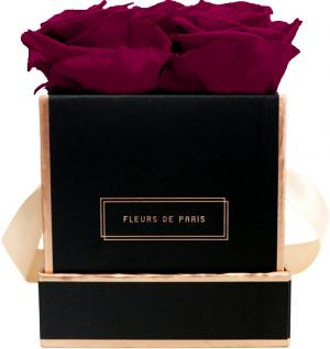 The Rosé Gold Collection Velvet Plum Small black - square